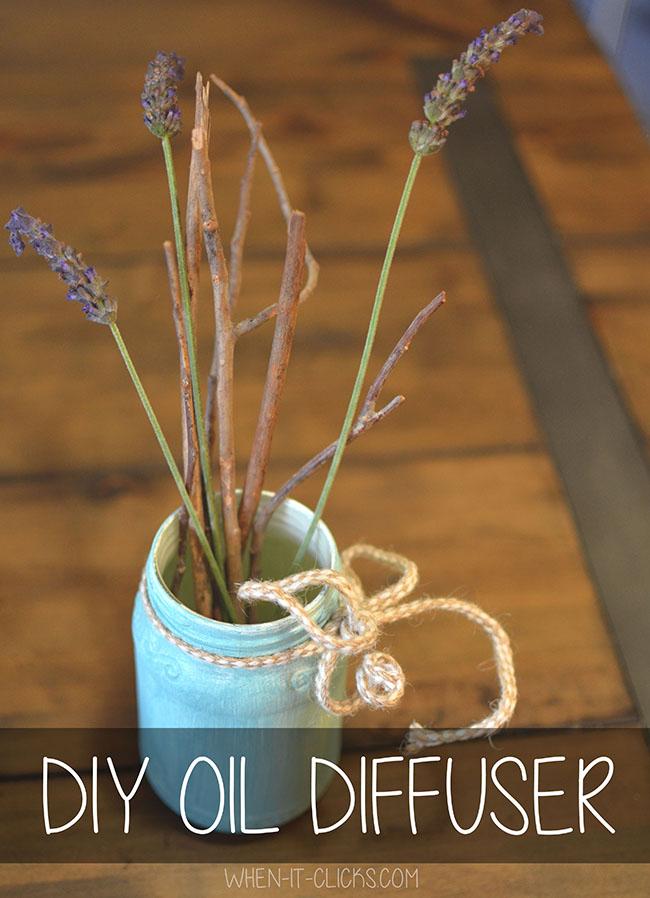 diy diffuser essential oils
