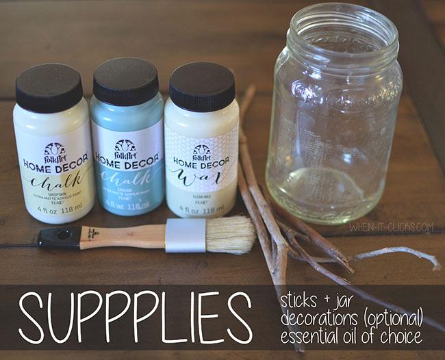 diy diffuser supplies