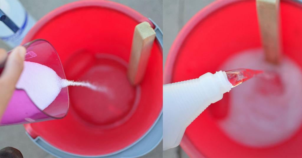 preparation whitewash salt and water
