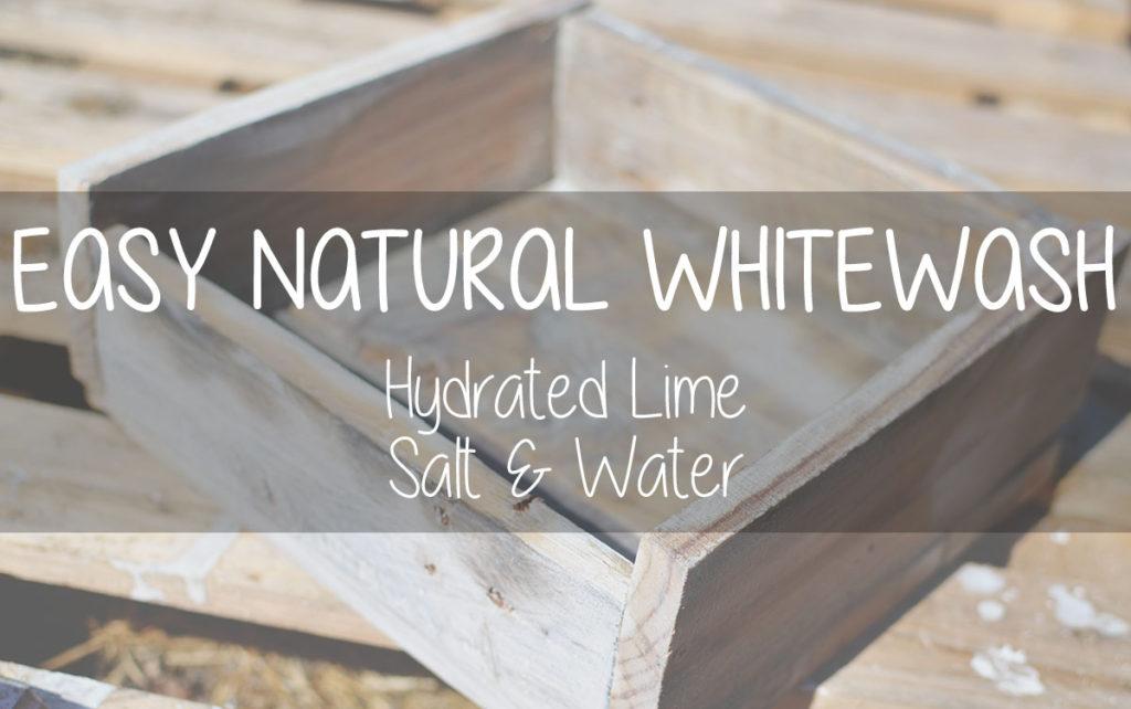 whitewash natural lime